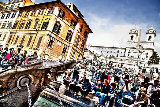 Piazza di Spagna by Francesco Zappala