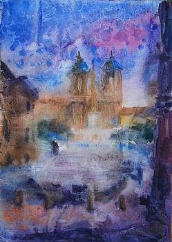 Piazza Di Spagna by Litvac Vadim