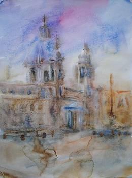 Piazza Navona by Litvac Vadim