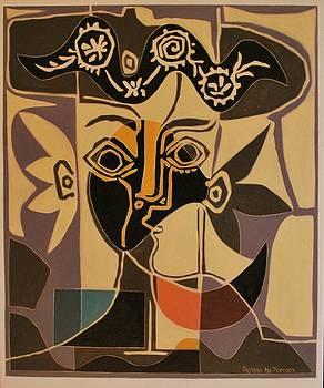 Picasso5 By Varvara by Varvara Stylidou