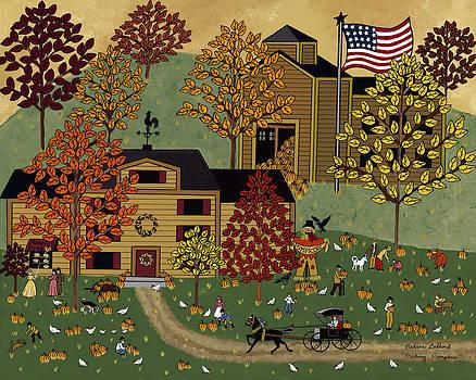 Picking Pumpkins by Medana Gabbard