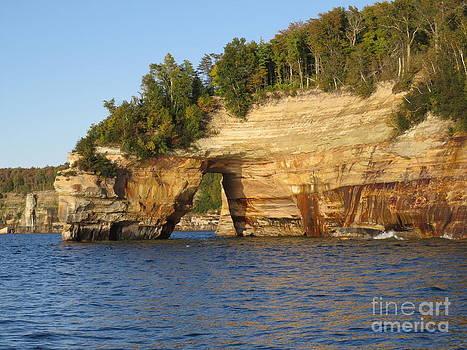 Pictured Rock Lake Shore by David Lankton