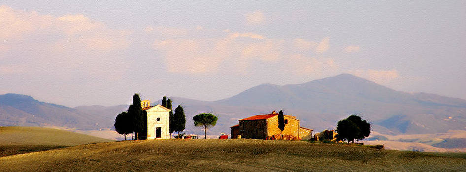 Pienza Chieso by Michael Fahey