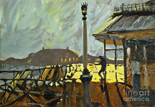 Pier at Brighton by Amy Fearn
