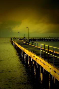 Pier Glow by John Monteath