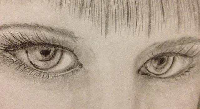 Piercing Eyes by Bozena Zajaczkowska