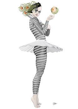 Pierrette clown  by Quim Abella