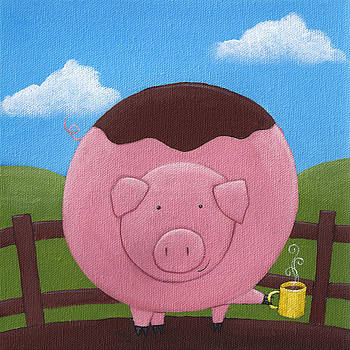 Pig Nursery Art by Christy Beckwith