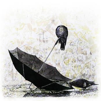 Pigeons by Maria Bozina