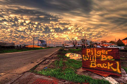 Pilger Will Be Back by Chris  Allington