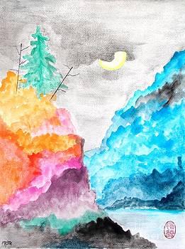 Roberto Prusso - Pilipinas Mountain Moon