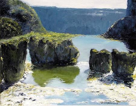 Pillar Falls by Boris Garibyan
