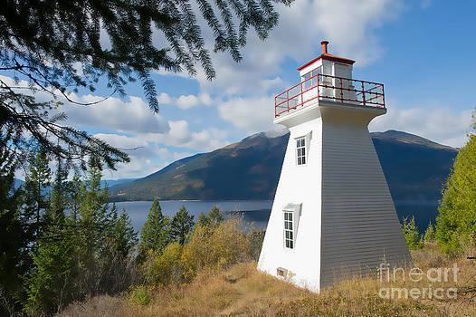 Pilot Bay Lighthouse 1 by Randy Giesbrecht