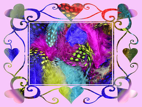 Cindy Nunn - Pin Feather Valentine 1