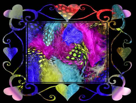 Cindy Nunn - Pin Feather Valentine 2