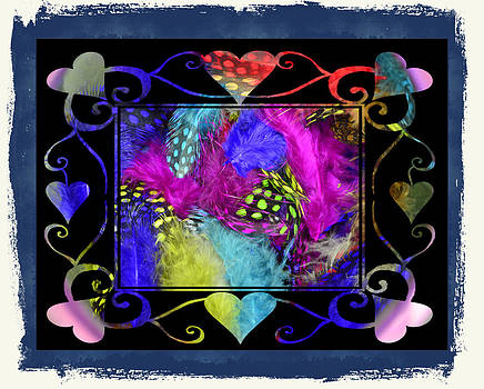 Cindy Nunn - Pin Feather Valentine 3