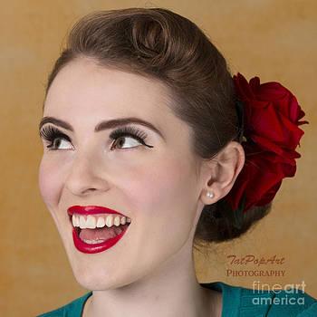 Pin-up Beauty II by Tatjana Popovska