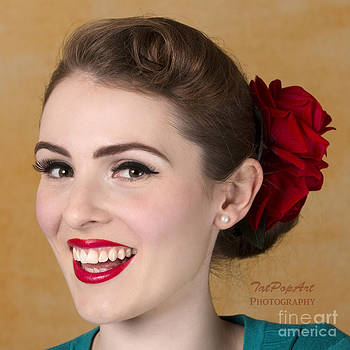 Pin-up Beauty III by Tatjana Popovska