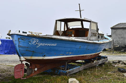 Bishopston Fine Art - Pinasse in Dry Dock