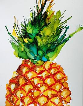 Pineapple Paradise by Donna Pierce-Clark