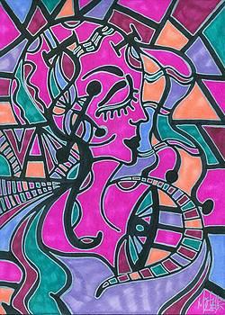 Pink Aurora by Michelle Villarreal