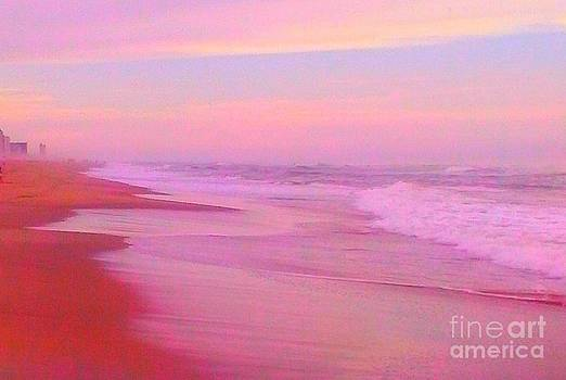 Pink beach by Linea App
