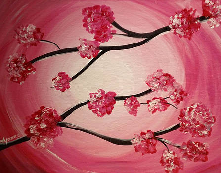 Pink Blossoms by Dyanne Parker