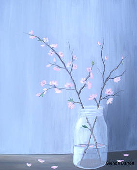 Pink Blossoms by Glenda Barrett