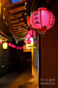 Fototrav Print - Pink Chinese lantern