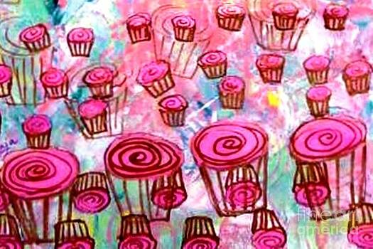 Pink Cupcake Dream by Ecinja Art Works