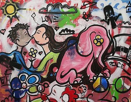 Pink Elephant by Jose A Gonzalez