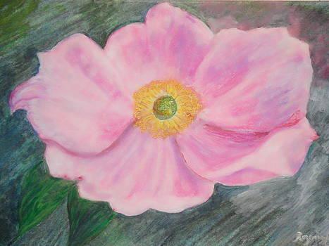 Pink Fleur by Rozenia Cunningham