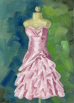Pink Fluff Dress by Shalece Elynne