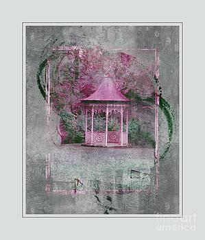 Pink Gazebo by Kathleen Struckle