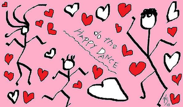 Pink Happy Dance by Vivian Sutherland