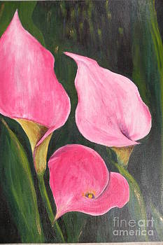 Pink Lillies by Carol Northington