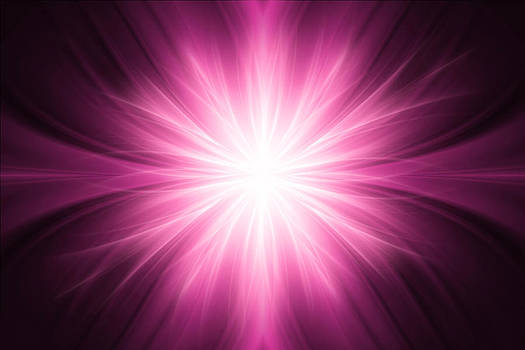 Pink luminous rays background by Somkiet Chanumporn