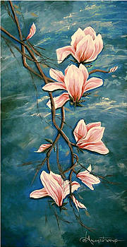 Pink Magnolia by Denise Armstrong