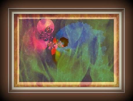 Pink rama by Lilioara Macovei