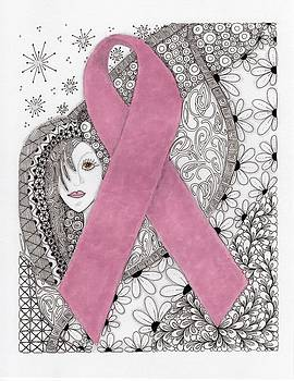Pink Ribbon by Paula Dickerhoff