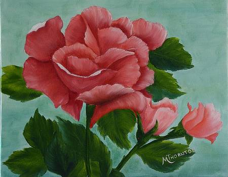 Pink Rose by Marsha Thornton