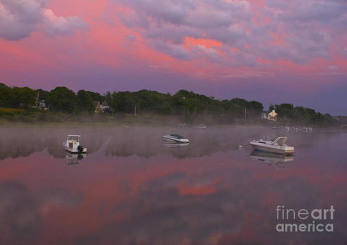 Pink Sky Reflection by Amazing Jules