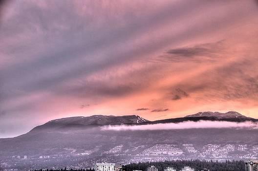 Pink Sunrise by Doug Farmer