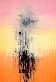Pinkish Abstract by Durgesh Birthare