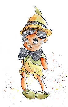 Pinocchio by Andrew Fling