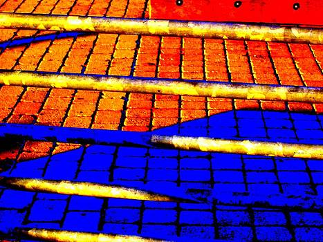 'Pipe and Tile Abstract' by Liza Dey