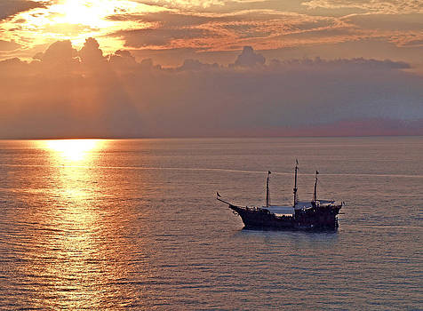 Pirates of Puerto Vallarta by Carolyn Burns Bass