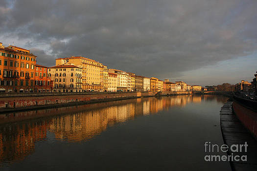 Pisa Reflections by Stephanie Cooke