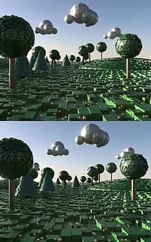 Marcin and Dawid Witukiewicz - Pixel Landscape over under