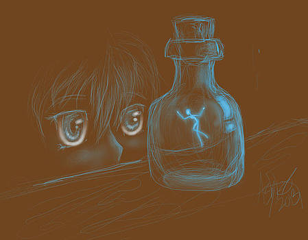 Pixie Jar by Afceantal Arroyo